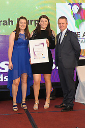 Mary and Sarah Murphy of Make a Mark Winners of Aspiring Young Entrepreneur Award at the Mayo Business Awards held in the Broadhaven Hotel Belmullet.<br /> Pic Conor McKeown