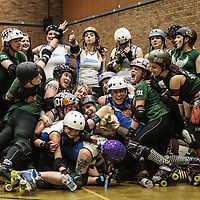 2014-05-31: Manchester Roller Derby Checkerbroads vs  Lincolnshire Bombers Roller Girls