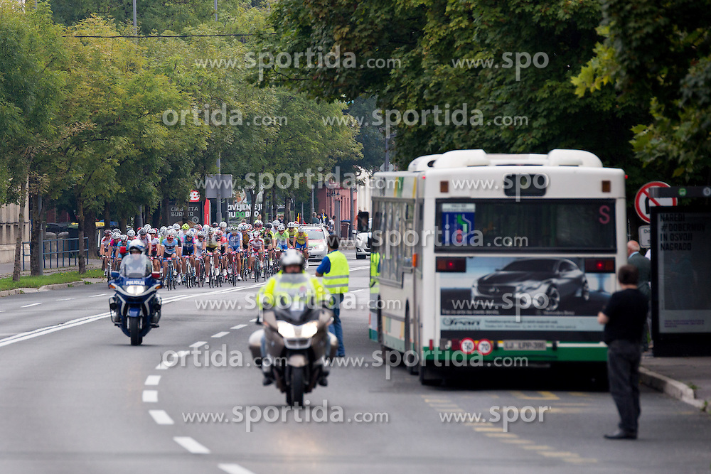 Peloton at UCI amateur Road World Championship 2014 on August 31, 2014 in BTC City, Ljubljana, Slovenia. Photo by Matic Klansek Velej / Sportida.com