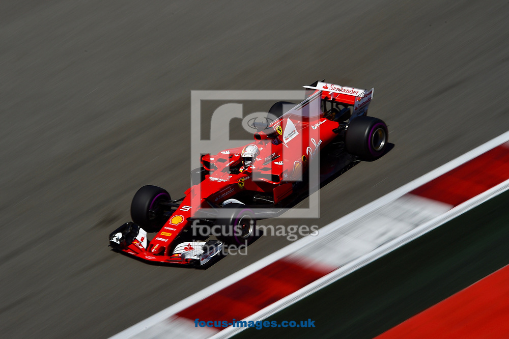 Sebastian Vettel of Scuderia Ferrari en route to coming second in the Russian Formula One Grand Prix at Sochi Autodrom, Sochi, Russia.<br /> Picture by EXPA Pictures/Focus Images Ltd 07814482222<br /> 30/04/2017<br /> *** UK & IRELAND ONLY ***<br /> <br /> EXPA-EIB-170430-0274.jpg