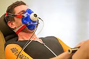 In Amsterdam rijdt Jan Bos een testprotocol op de VU. Vandaag is bekend geworden dat Jan Bos opnieuw voor het team gaat rijden. In september wil het Human Power Team Delft en Amsterdam, dat bestaat uit studenten van de TU Delft en de VU Amsterdam, tijdens de World Human Powered Speed Challenge in Nevada een poging doen het wereldrecord snelfietsen te verbreken. Het record is met 139,45 km/h sinds 2015 in handen van de Canadees Todd Reichert.<br /> <br /> With the special recumbent bike the Human Power Team Delft and Amsterdam, consisting of students of the TU Delft and the VU Amsterdam, also wants to set a new world record cycling in September at the World Human Powered Speed Challenge in Nevada. The current speed record is 139,45 km/h, set in 2015 by Todd Reichert.
