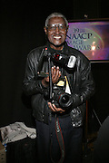 Hollywood Photographer Legend Bill Jones  in the Media Room at The 39th Annual NAACP IMAGE AWARDS held at the Shrine Auditorium in Los Angeles, Calaifornia on February 14, 2008