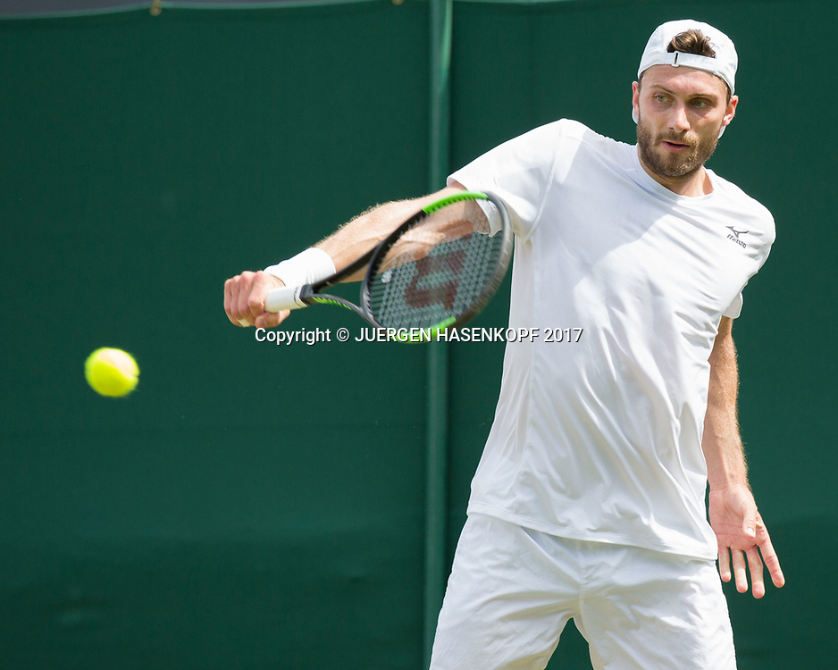 DANIEL BRANDS (GER)<br /> <br /> Tennis - Wimbledon 2016 - Grand Slam ITF / ATP / WTA -  AELTC - London -  - Great Britain  - 4 July 2017.