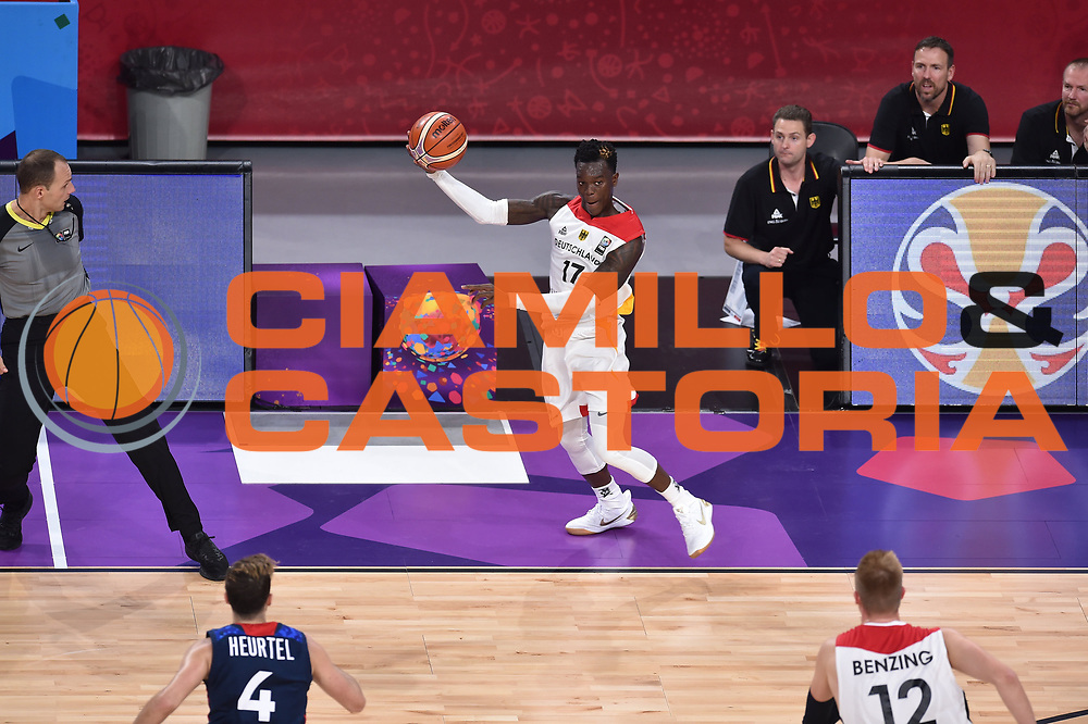 Dennis Schroder<br /> Eurobasket 2017 <br /> Francia - Germania<br /> Istambul, 09/09/2017<br /> Foto Ciamillo - Castoria/ M.Longo