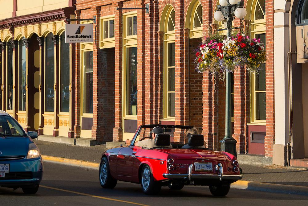 Canada, British Columbia, Vancouver Island, Victoria, classic car