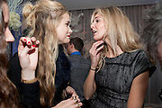 GABRIELA WILDE; GABRIELA ANSTRUTHER-GOUGH-CALTHORPE, TAMSIN EGERTON,  English National Ballet's party before performance of the ' The Nutcracker. St. Martin's Lane Hotel. London 14 December 2011.
