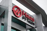 September 29, 2015: Haas F1 logo