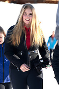 Fotosessie met de koninklijke familie in Lech /// Photoshoot with the Dutch royal family in Lech .<br /> <br /> Op de foto/ On the photo: Prinses Amalia //  Princess Amalia