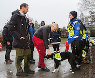 As, 11-01-2017<br /> <br /> Crown Prince Haakon and Crown Princess Mette Marit visit Norwegian Rescue Dogs at &Aring;svisit Norwegian Rescue Dogs at &Aring;s<br /> <br /> <br /> <br /> COPYRIGHT ROYALPORTRAITS EUROPE/ BERNARD RUEBSAMEN