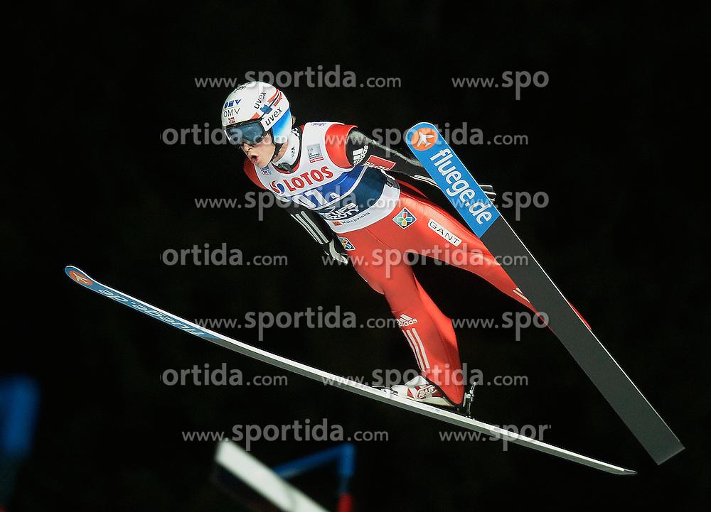 17.01.2015, Wielka Krokiew, Zakopane, POL, FIS Weltcup Ski Sprung, Zakopane, Herren, Teamspringen, im Bild Anders Fannemel // during mens Large Hill Team competition of FIS Ski Jumping world cup at the Wielka Krokiew in Zakopane, Poland on 2015/01/17. EXPA Pictures &copy; 2015, PhotoCredit: EXPA/ Newspix/ Irek Dorozanski<br /> <br /> *****ATTENTION - for AUT, SLO, CRO, SRB, BIH, MAZ, TUR, SUI, SWE only*****