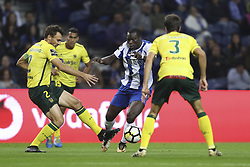 October 21, 2017 - Porto, Porto, Portugal - Porto's Cameroonian forward Vincent Aboubakar during the Premier League 2017/18 match between FC Porto and FC Pacos de Ferreira, at Dragao Stadium in Porto on October 21, 2017. (Credit Image: © Dpi/NurPhoto via ZUMA Press)