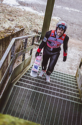 12.01.2019, Stadio del Salto, Predazzo, ITA, FIS Weltcup Skisprung, Val di Fiemme, Herren, 1. Wertungsdurchgang, im Bild Andreas Stjernen (NOR) // Andreas Stjernen of Norway before his 1st Competition Jump for the Four Hills Tournament of FIS Ski Jumping World Cup at the Stadio del Salto in Predazzo, Italy on 2019/01/12. EXPA Pictures © 2019, PhotoCredit: EXPA/ JFK