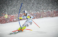 27.01.2015, Planai, Schladming, AUT, FIS Skiweltcup Alpin, Schladming, 1. Lauf, im Bild Fritz Dopfer (GER) // Fritz Dopfer (GER) during the first run of the men's slalom of Schladming FIS Ski Alpine World Cup at the Planai Course in Schladming, Austria on 2015/01/27, EXPA Pictures © 2015, PhotoCredit: EXPA/ Erwin Scheriau