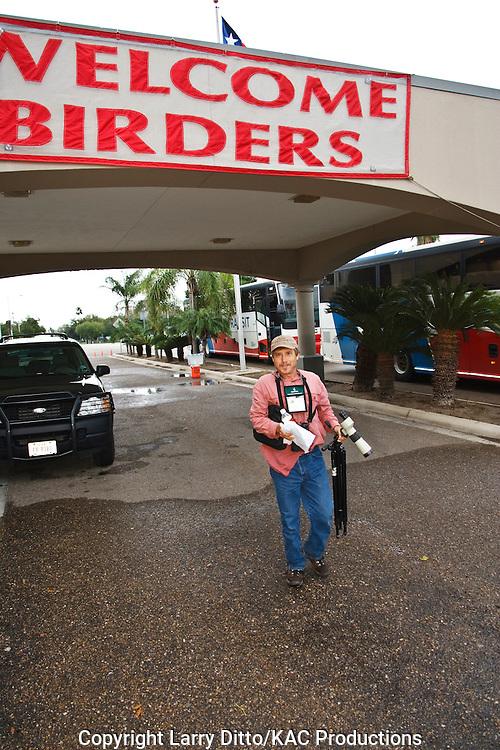 tour guide at Rio Grande Valley Birding Festival, Harlingen, Texas, USA