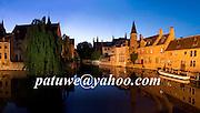Quay of the Rosary, Brugge, Bruges, Brugges, Belgium