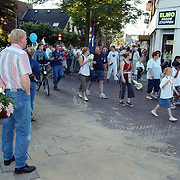 Intocht Avondvierdaagse Laarderweg Bussum