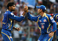 IPL Match 15 Mumbai Indians v Pune Warriors India