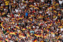 GER, Commerzbank Arena, GER, Stuttgart, FSP, LS, Deutschland (GER) vs Brasilien (BRA), im Bild .. deutsche Fans schwenken Fahnen // durch the friendly ship between Germany (GER) vs Brasil (BRA) in Commerzbank Arena, Stuttgart, on 2011/08/11 EXPA Pictures © 2011, PhotoCredit: EXPA/ nph/  Hessland       ****** out of GER / CRO  / BEL ******