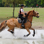 Lisa Marie Fergusson and Smart Move at the Florida International in Ocala, Florida.