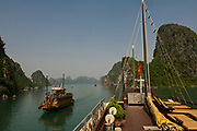 Ha Long Bay (aka Hong Gai), Red River Delta, Gulf of Tonkin, Northern Vietnam,
