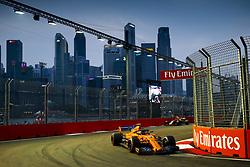 September 15, 2018 - Singapore, Singapore - Motorsports: FIA Formula One World Championship 2018, Grand Prix of Singapore, .#2 Stoffel Vandoorne (BEL, McLaren F1 Team) (Credit Image: © Hoch Zwei via ZUMA Wire)