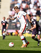 Milton Keynes Dons defender Kyle McFadzean during the Sky Bet Championship match between Milton Keynes Dons and Derby County at stadium:mk, Milton Keynes, England on 26 September 2015. Photo by David Charbit.