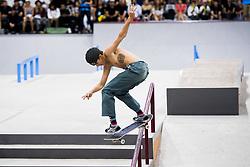 May 20, 2018 - Oslo, NORWAY - 180520 Jagger Eaton of USA competes in the men's street skateboard finals during X Games Norway on May 20, 2018 in Oslo.Photo: Fredrik Varfjell / BILDBYRÃ…N / kod FV / 150099 (Credit Image: © Fredrik Varfjell/Bildbyran via ZUMA Press)