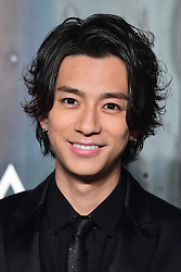 Shohei Miura attending the Lost in Space event to celebrate the 60th anniversary of the OMEGA Speedmaster held in the Turbine Hall, Tate Modern, 25 Sumner Street, Bankside, London. PRESS ASSOCIATION Photo. Picture date: Wednesday 26 April  2017. Photo credit should read: Ian West/PA Wire