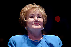 """Elizabeth Dole Foundation Founder and President Elizabeth Dole looks on during the launch of """"Hidden Heroes"""" campaign at the Capitol September 27, 2016 in Washington, DC. The Hidden Heroes campaign has been created to generate stronger support for America's 5.5 million military and veteran caregivers. Photo by Olivier Douliery/Abaca"""