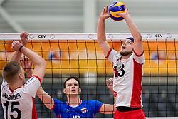 23-05-2017 NED: 2018 FIVB Volleyball World Championship qualification, Koog aan de Zaan<br /> Slowakije - Oostenrijk / Maximilian Thaller #13