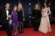 Musical Awards Gala 2016 in het Beatrix Theater Utrecht<br /> <br /> Op de foto: Antje Monteiro  en haar dochter Romy Monteiro  en links Lisbeth List