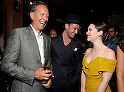 "Richard Grant, Jude Law and Emilia Clarke attend the party for Fox Searchlight's Premiere of ""Dom Hemmingway"" at the Toronto International Film Festival on Sunday, September 8th, 2013 in Toronto, Canada. (Photo by Todd Williamson/Invision for Fox Searchlight/AP Images)"
