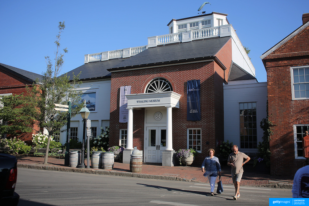 The Whaling Museum in Nantucket Town Centre, Nantucket Island, Massachusetts, USA. Photo Tim Clayton
