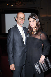 EDOARDO PONTI and KATRINA PAVLOS at a screening of the short film 'Away We Stay' directed by Edoardo Ponti held at The Electric Cinema, Portobello Road, London W1 on 15th November 2010.