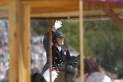 Dujardin, Charlotte, Valegro<br /> London - Olympische Spiele 2012<br /> <br /> Dressur Grand Prix de Dressage<br /> © www.sportfotos-lafrentz.de/Stefan Lafrentz