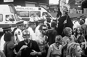 Domestic extremists, Reclaim the Streets London, Shepherd's Bush, July 1996