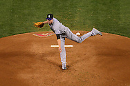 PHOENIX, AZ - APRIL 30:  Chris Rusin #52 of the Colorado Rockies delivers a pitch in the third inning against the Arizona Diamondbacks at Chase Field on April 30, 2016 in Phoenix, Arizona.  (Photo by Jennifer Stewart/Getty Images)