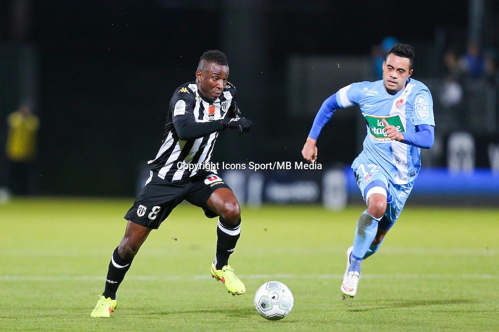 Ismael KEITA  - 26.01.2015 - Angers / Brest - 21eme journee de Ligue 2 -<br /> Photo : Vincent Michel / Icon Sport