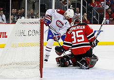 January 21, 2009: Montreal Canadiens vs New Jersey Devils