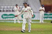 Ryan ten Doeschate of Essex during the Specsavers County Champ Div 1 match between Somerset County Cricket Club and Essex County Cricket Club at the Cooper Associates County Ground, Taunton, United Kingdom on 23 September 2019.