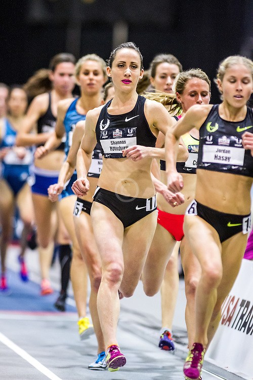 USATF Indoor Track & Field Championships: womens two mile, Shannon Rowbury, Nike Oregon Project