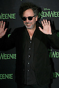 30.SEPTEMBER.2012. MEXICO CITY<br /> <br /> DIRECTOR TIM BURTON PROMOTES HIS LATEST FILM FRANKENWEENIE HELD AT THE ST REGIS HOTEL IN MEXICO.<br /> <br /> BYLINE: EDBIMAGEARCHIVE.CO.UK<br /> <br /> *THIS IMAGE IS STRICTLY FOR UK NEWSPAPERS AND MAGAZINES ONLY*<br /> *FOR WORLD WIDE SALES AND WEB USE PLEASE CONTACT EDBIMAGEARCHIVE - 0208 954 5968*
