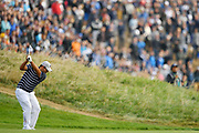 Patrick Reed (Usa) during the friday morning fourballs session of Ryder Cup 2018, at Golf National in Saint-Quentin-en-Yvelines, France, September 28, 2018 - Photo Philippe Millereau / KMSP / ProSportsImages / DPPI
