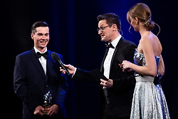 Primoz Roglic during Slovenian Sports personality of the year 2019 annual awards presented on the base of Slovenian sports reporters, on December 17, 2019 in Cankarjev dom, Ljubljana, Slovenia. Photo by Grega Valancic / Sportida