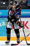 17.9.2014, Ritari Areena, Hämeenlinna.<br /> Jääkiekon SM-liiga 2014-15. Hämeenlinnan Pallokerho - Oulun Kärpät.<br /> Mikko Niemelä - Kärpät