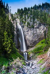 Comet Falls, Mt. Rainier National Park, Washington, US