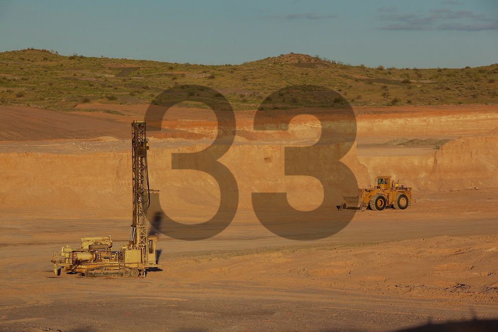 SOLEDAD-DIPOLOS mine in the State of Sonora. This newly started mine is part of the Fresnillo plc group. Mexico