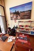 Laos, Xieng Khouang Province, Phonsavan.     UXO Information Centre.