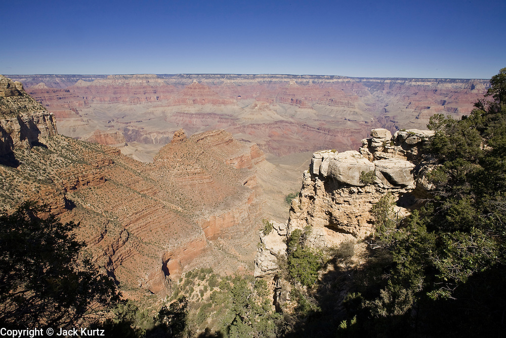 Oct. 6, 2008 -- GRAND CANYON NATIONAL PARK: The south rim of the Grand Canyon National Park in northern Arizona. Photo by Jack Kurtz