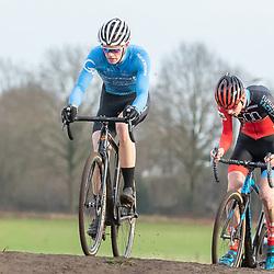 11-01-2020: Wielrennen: NK Veldrijden: Rucphen<br />Atse ten Brinke, Yannick Runhart
